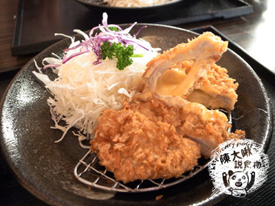 炸起士豬排(藍帶)定食