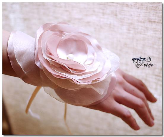 伴娘手腕花Amber参號-2
