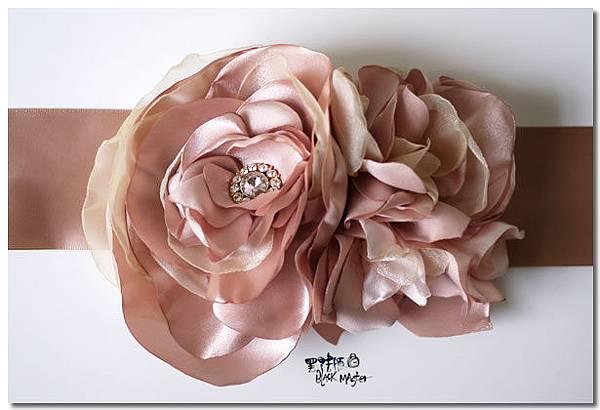 花朵腰帶 silvia
