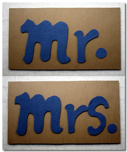 Mr.&Mrs.手拿牌