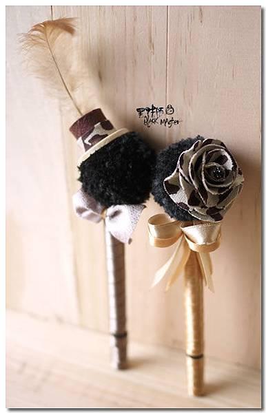 豹紋婚禮簽名筆02 佳怡