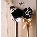 豹紋婚禮簽名筆 佳怡