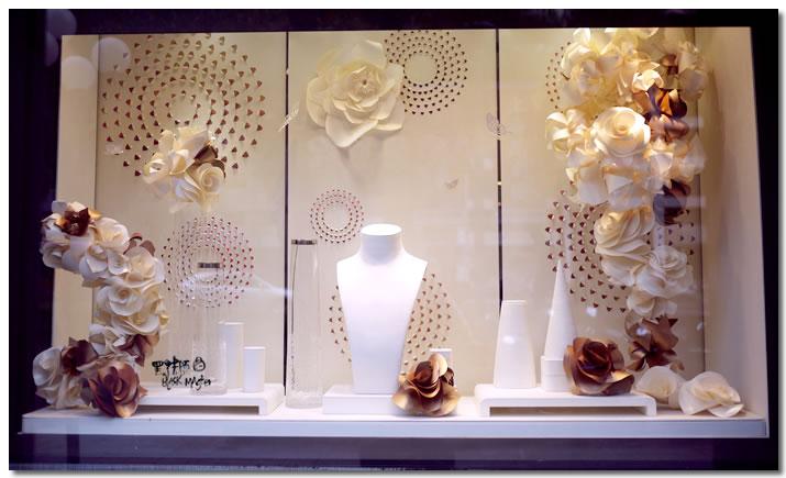紙花櫥窗21