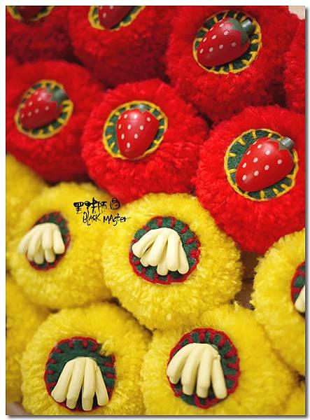 鑰匙圈 香蕉&草莓02.jpg