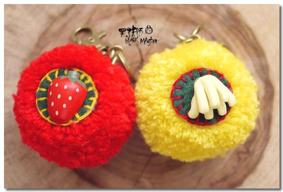 鑰匙圈 香蕉&草莓.jpg