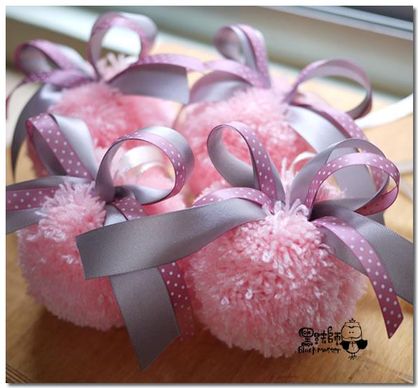 銀粉色系-毛線球車把手裝飾.jpg