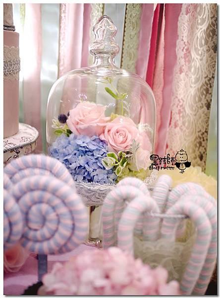 甜點風x紙花 婚禮佈置  相簿桌 06.jpg