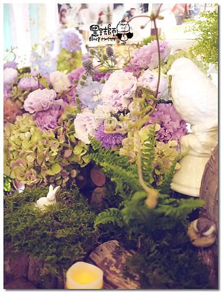 紙花x紫色森林風 婚禮布置 相簿桌01.jpg