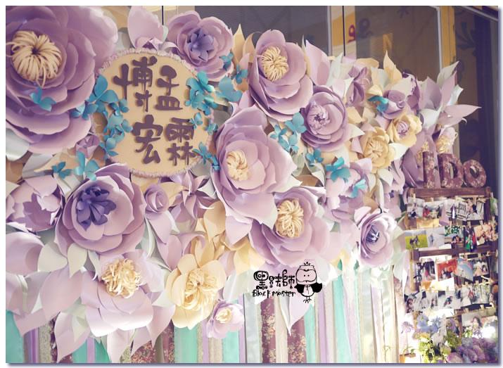 紙花x紫色森林風 婚禮布置 紙花牆02.jpg