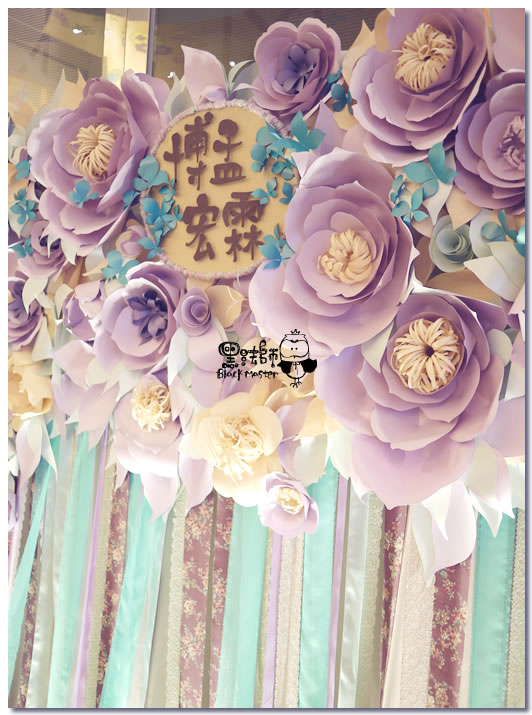 紙花x紫色森林風 婚禮布置 紙花牆03.jpg