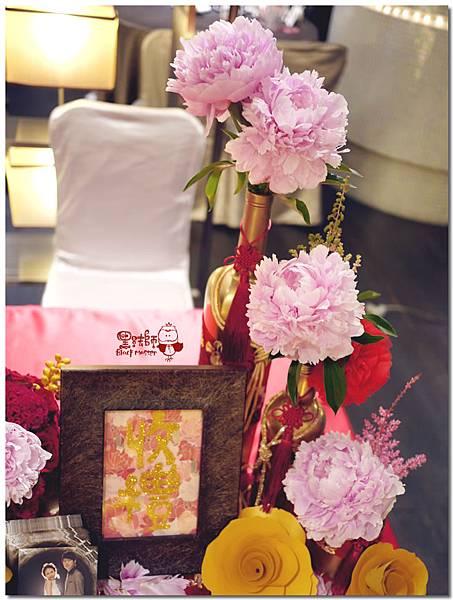 中國風X紙花婚佈 收禮桌  Luther&Jean  06.jpg