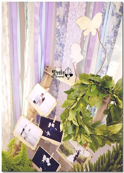 藍紫色系森林風X紙花婚佈 拍照背景 錚曜&婷萱 03.jpg