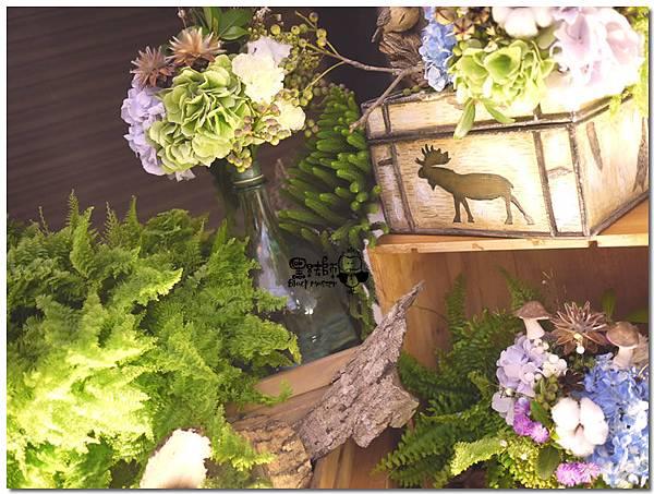 藍紫色系森林風X紙花婚佈 拍照背景 錚曜&婷萱 06.jpg