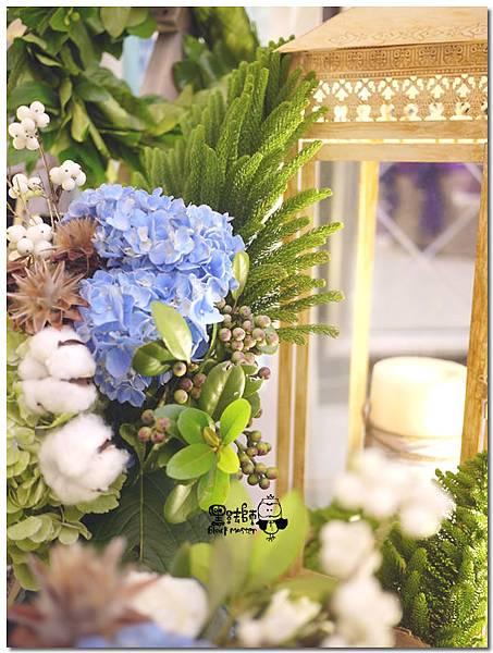 藍紫色系森林風X紙花婚佈 拍照背景 錚曜&婷萱 09.jpg