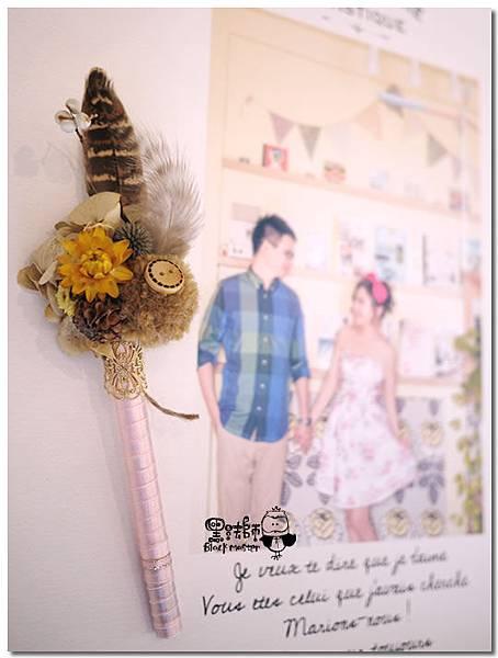 甜蜜花園X紙花婚佈 婚禮簽名筆 Chang%26;Huang .jpg