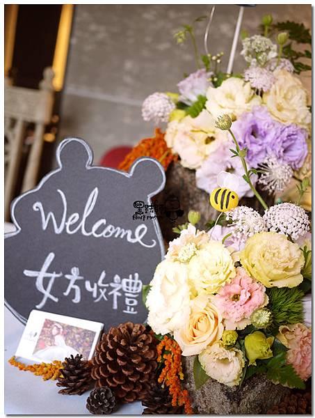 來去野餐吧X紙花婚佈 收禮桌 逢恩與采盈 01.jpg