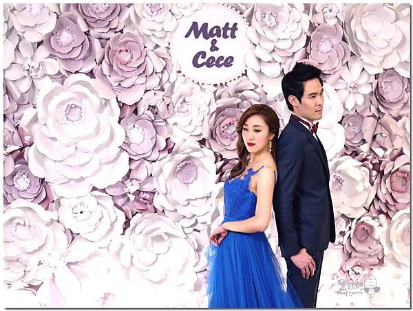 浪漫紫x純白色系紙花牆 Matt%26;Cece 03.jpg