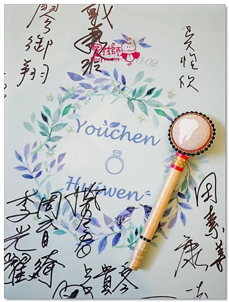 時尚個性風x紙花婚佈 婚禮簽名筆 YouChen%26;HuiWen.jpg