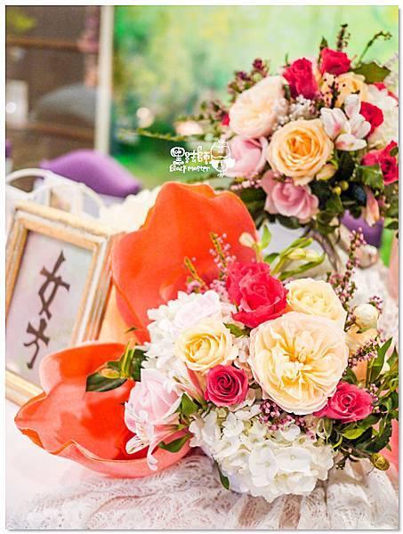 歐式典雅x紙花婚佈 收禮桌 H%26;W 02.jpg