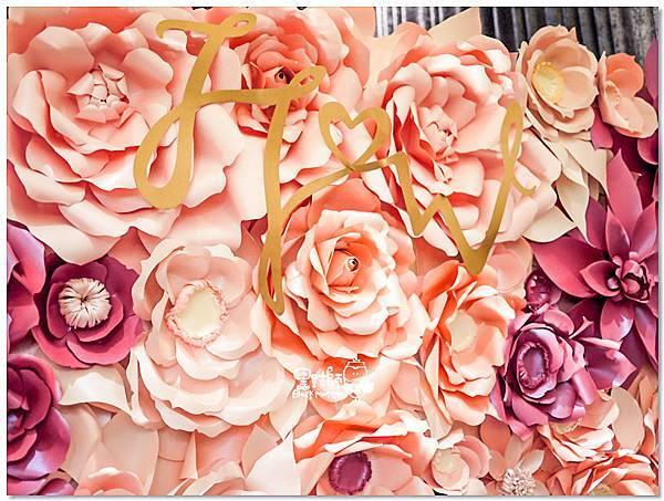 歐式典雅x紙花婚佈 紙花牆 H&W 01.jpg