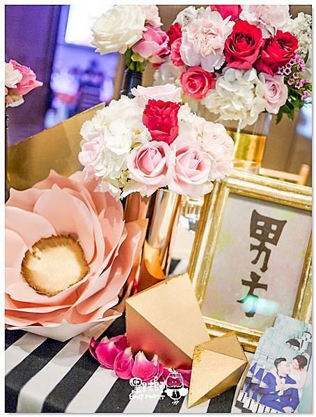 時尚華麗x紙花婚佈 收禮桌 David%26;Ivy 01.jpg