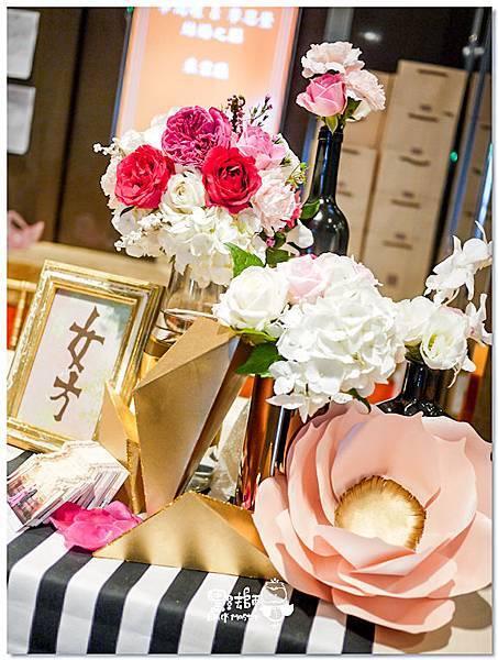 時尚華麗x紙花婚佈 收禮桌 David%26;Ivy 02.jpg
