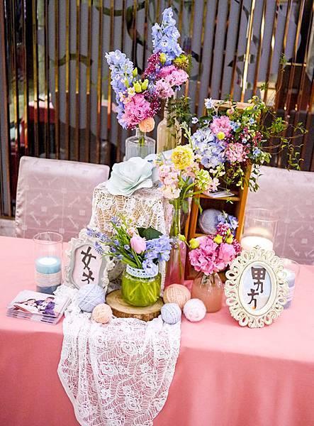 來場甜美夢幻的婚禮吧 收禮桌 冠霖&玉婷 01.jpg