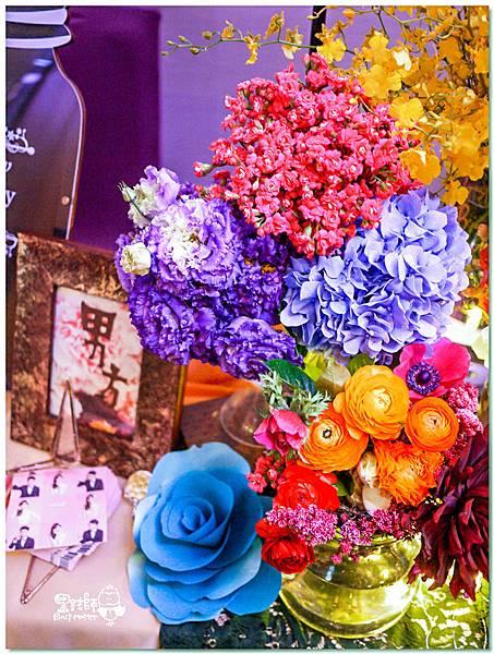 時尚又絢麗的紙花婚佈 收禮桌 Ning%26;Candy 02.jpg