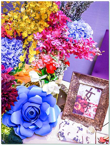 時尚又絢麗的紙花婚佈 收禮桌 Ning%26;Candy 03.jpg