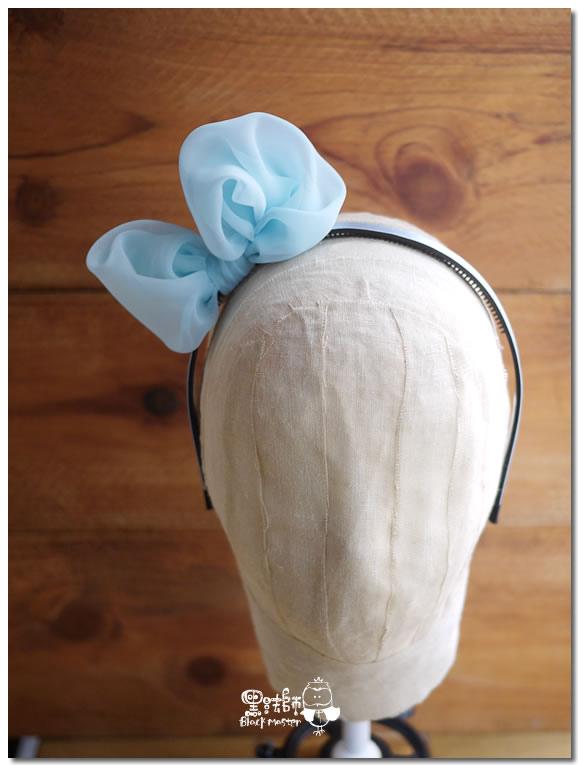 藍色薄紗蝴蝶結髮箍 01.jpg