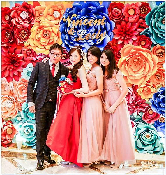 時尚又絢麗的紙花婚佈 Vincent&Lesly .jpg