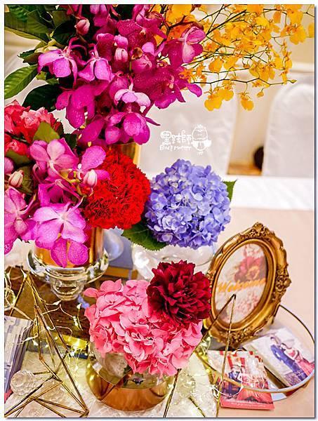時尚又絢麗的紙花婚佈 收禮桌  Vincent&Lesly 01.jpg