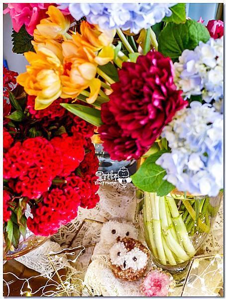 時尚又絢麗的紙花婚佈 相簿桌  Vincent&Lesly 02.jpg