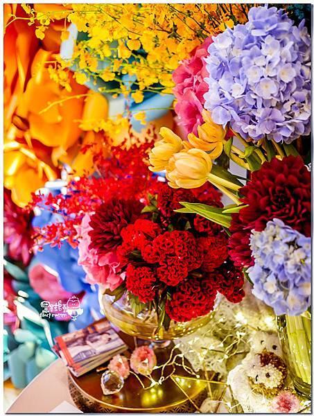 時尚又絢麗的紙花婚佈 相簿桌  Vincent&Lesly 01.jpg