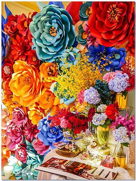 時尚又絢麗的紙花婚佈 相簿桌  Vincent%26;Lesly 06.jpg