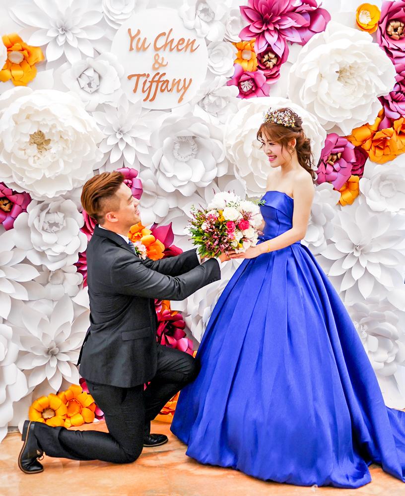 高貴典雅的紙花婚佈  Yu Chen%26;Tiffany 01.jpg