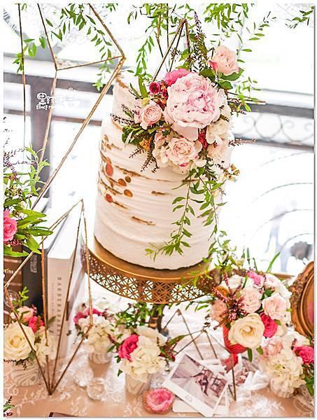 高貴典雅的紙花婚佈  Yu Chen%26;Tiffany 相簿桌06.jpg