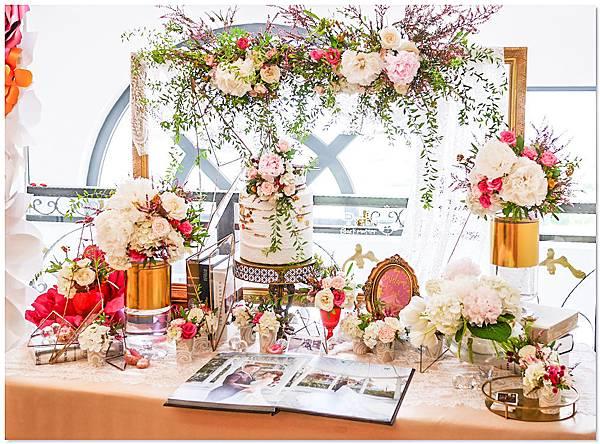 高貴典雅的紙花婚佈  Yu Chen&Tiffany 相簿桌10.jpg