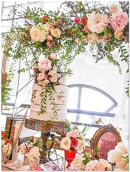 高貴典雅的紙花婚佈  Yu Chen%26;Tiffany 相簿桌09.jpg