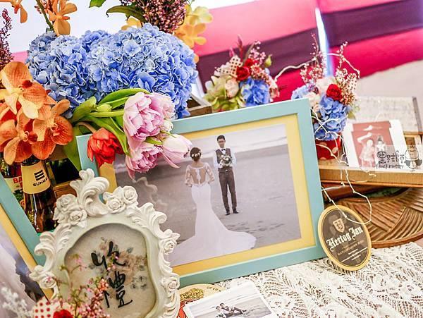 復古派對x紙花婚佈 收禮桌 Andy%26;Monkey  01.jpg