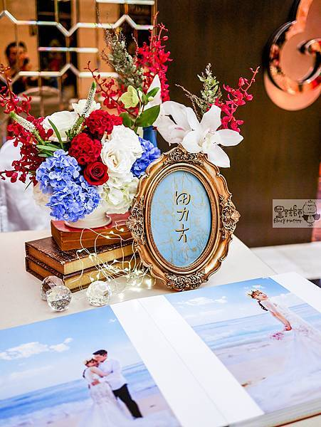 現代典雅風格x紙花婚佈 收禮桌 TING%26;HUA 01.jpg