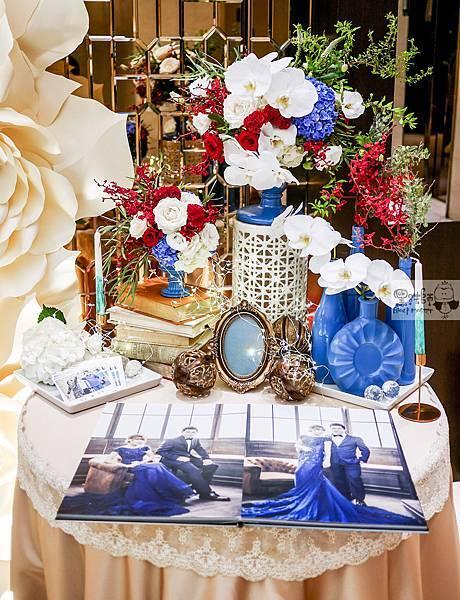 現代典雅風格x紙花婚佈 相簿桌 TING%26;HUA 05.jpg
