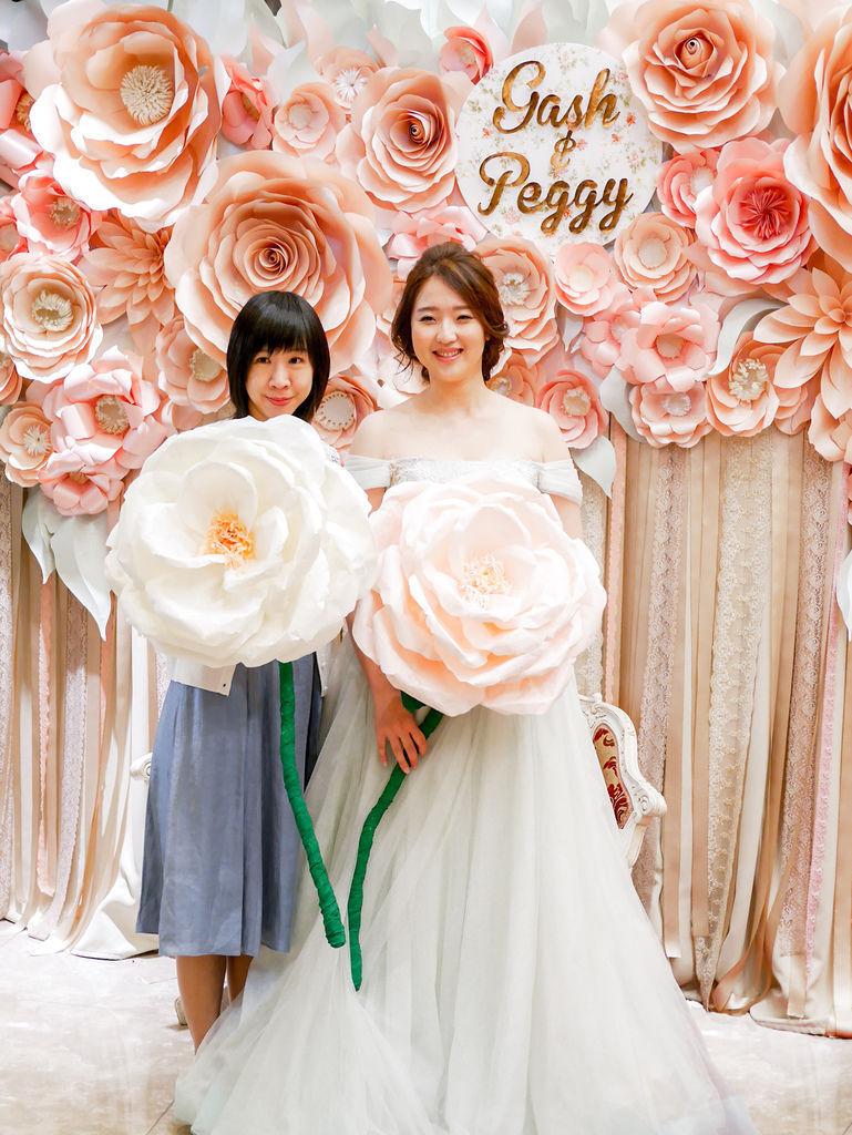 夏日甜點色調x紙花婚禮佈置 Gash%26;Peggy 03.jpg
