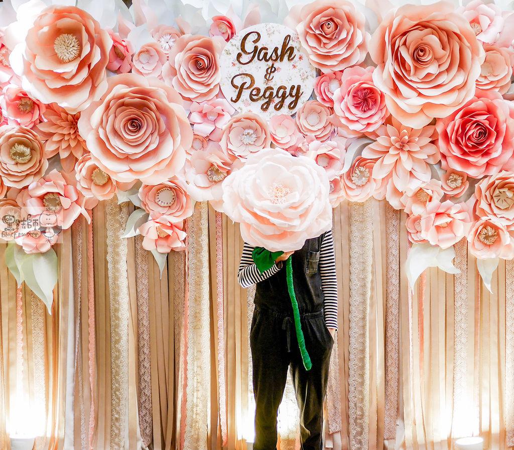 夏日甜點色調x紙花婚禮佈置 Gash%26;Peggy 07.jpg