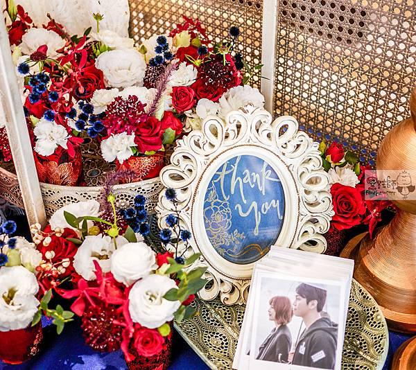 復古中國風x紙花婚禮佈置 相簿桌 Miloko 01.jpg