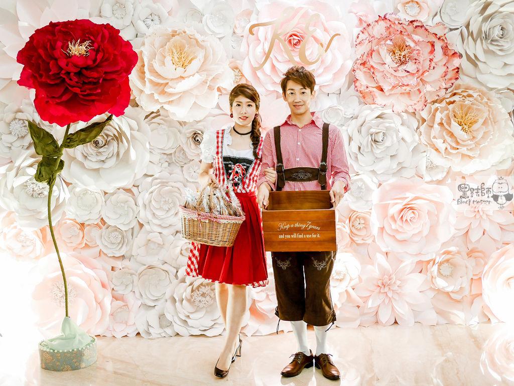 白粉色的優雅x紙花婚禮佈置 Kenny%26;Eliza 03.jpg