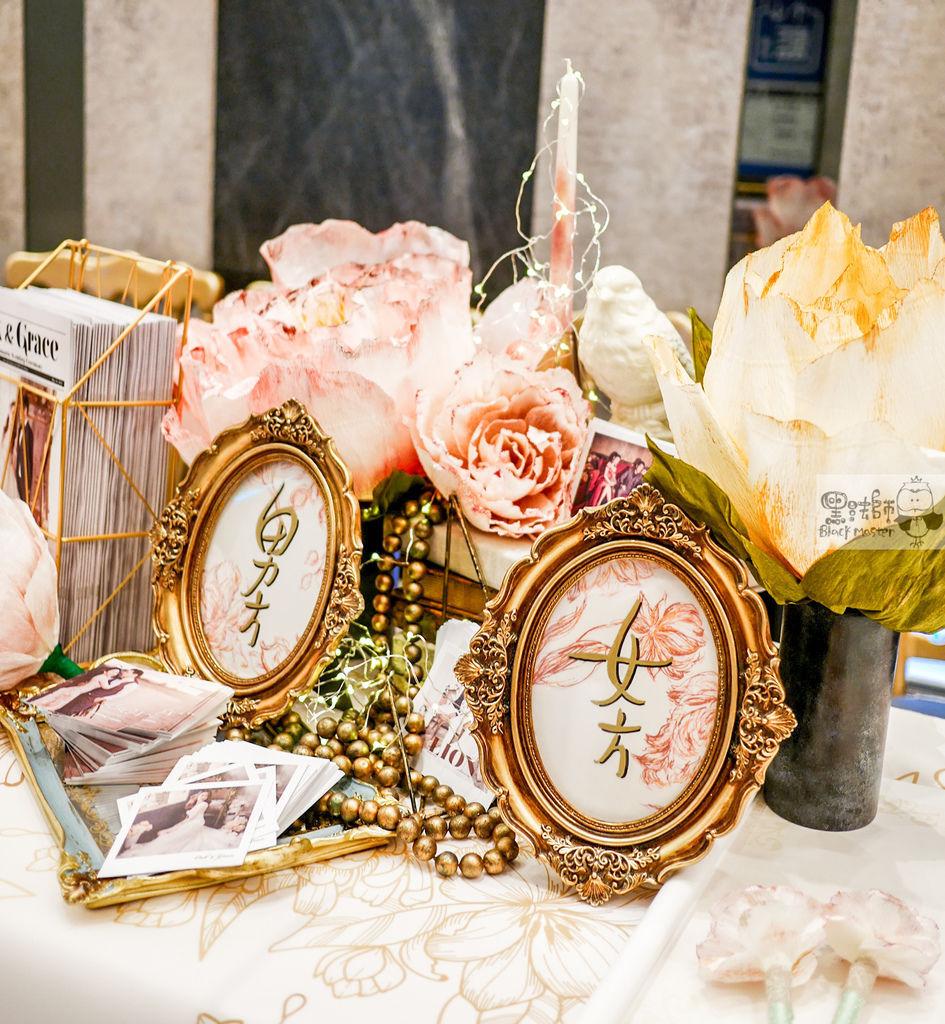 夢境花園x大朵紙花婚佈 收禮桌 Oak%26;Grace 01.jpg