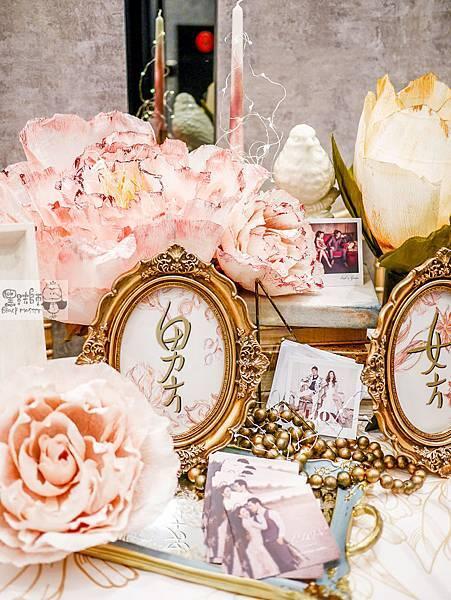 夢境花園x大朵紙花婚佈 收禮桌 Oak%26;Grace 02.jpg