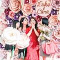 森林風婚禮x多彩紙花 Luke&Cara 03.jpg