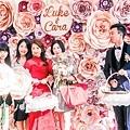 森林風婚禮x多彩紙花 Luke&Cara 05.jpg